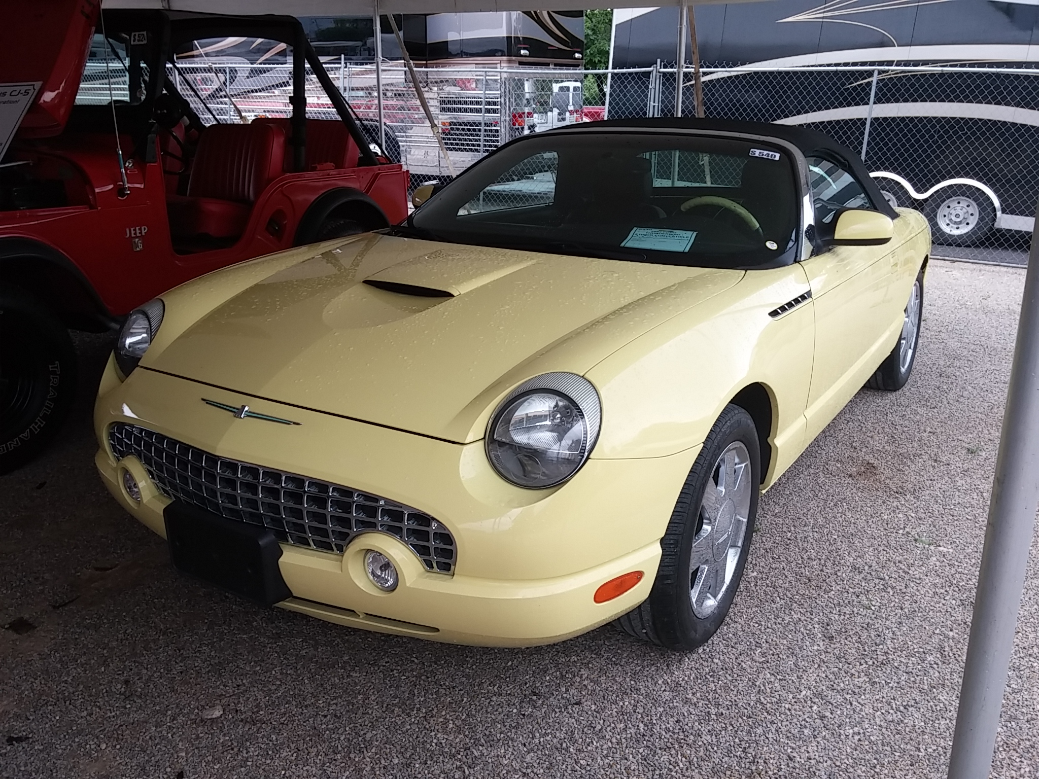 2002 FORD THUNDERBIRD For Sale at Vicari Auctions Nocona 2015