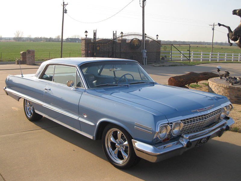 1963 chevrolet impala ss for sale at vicari auctions nocona tx 2016. Black Bedroom Furniture Sets. Home Design Ideas