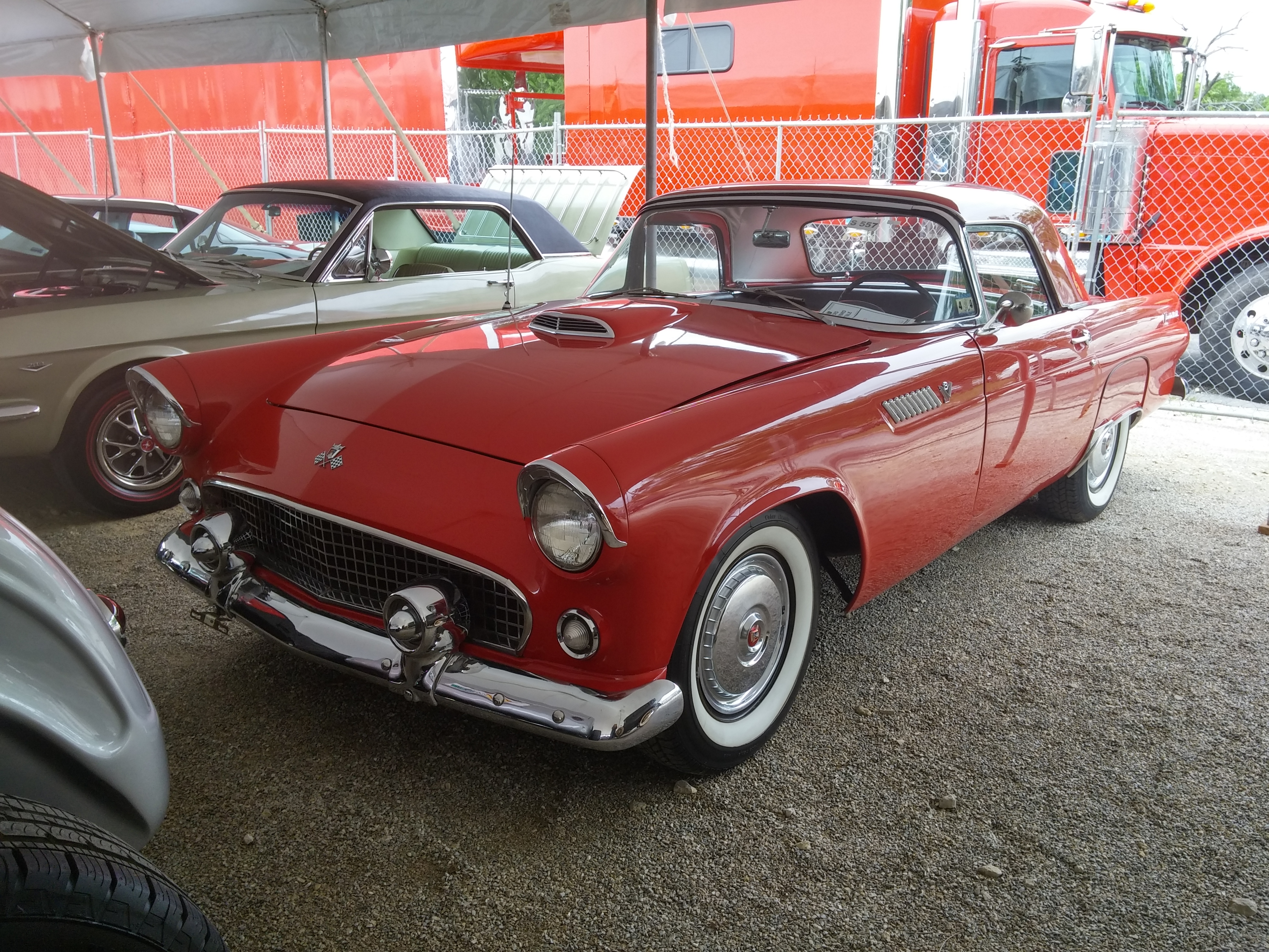 1955 FORD THUNDERBIRD For Sale at Vicari Auctions Nocona Tx 2016