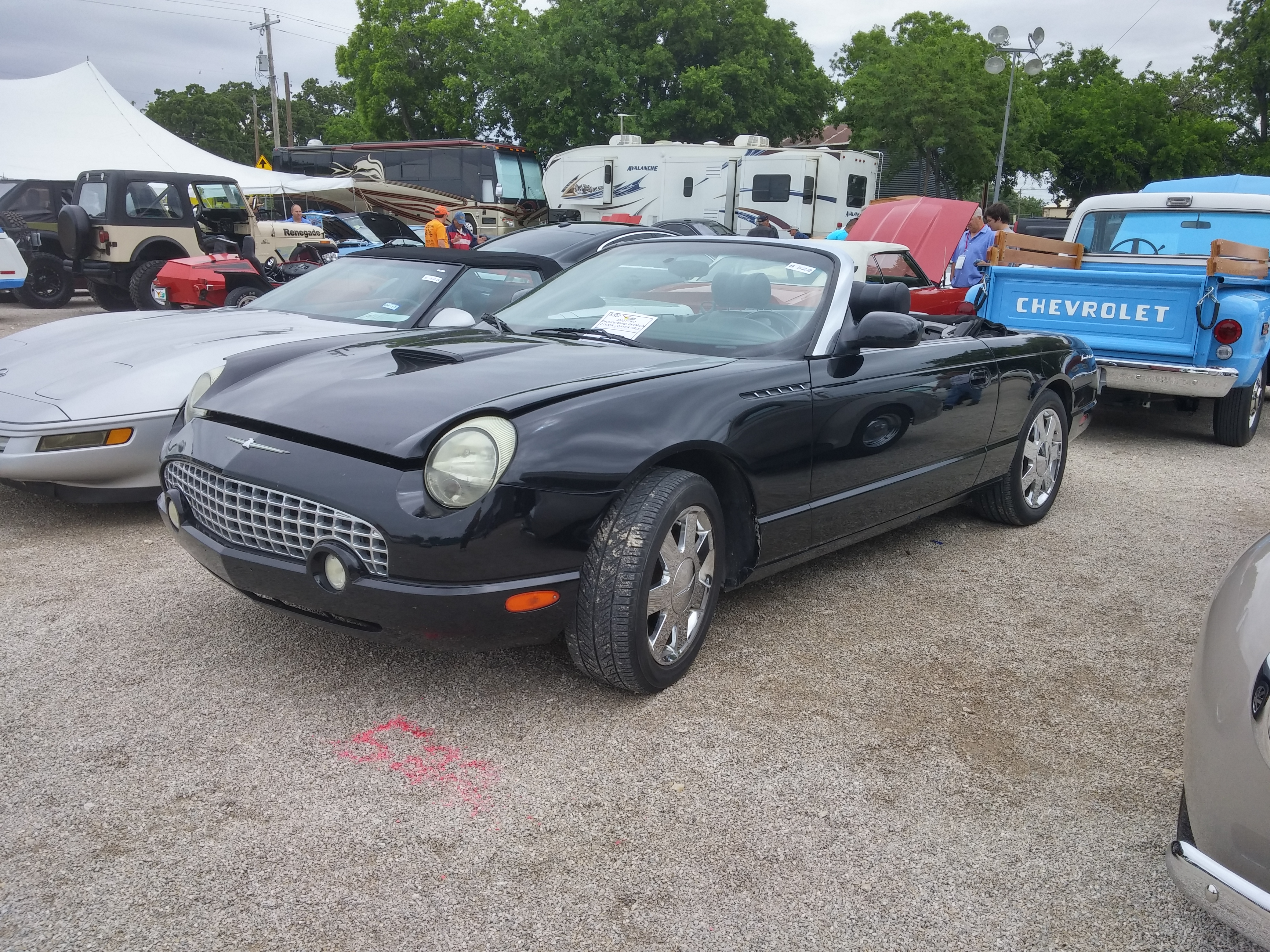 2002 ford thunderbird premium for sale at vicari auctions nocona tx 2016. Black Bedroom Furniture Sets. Home Design Ideas