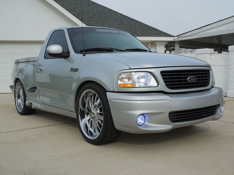 1st Image of a 2002 FORD F-150 1/2 TON SVT LIGHTNING ... : 2002 ford lighting - azcodes.com