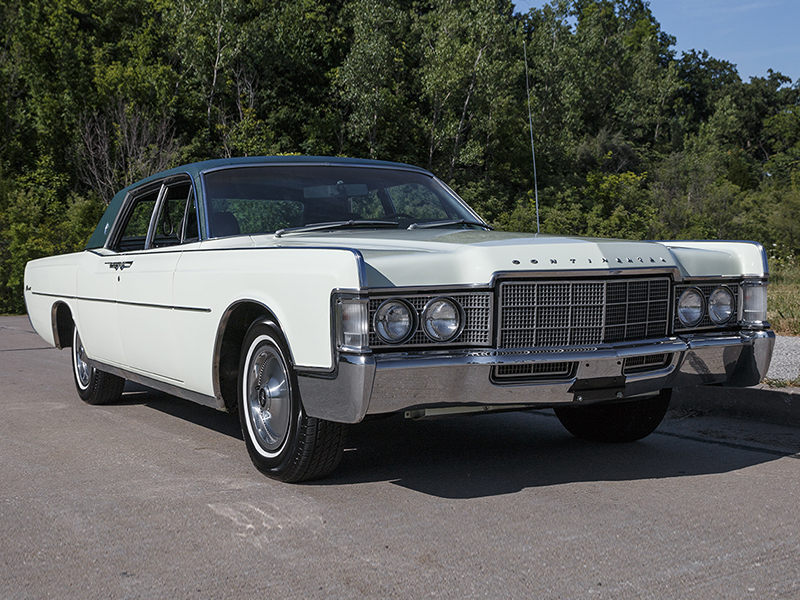 1969 lincoln continental mkiii for sale at vicari auctions new orleans 2016. Black Bedroom Furniture Sets. Home Design Ideas