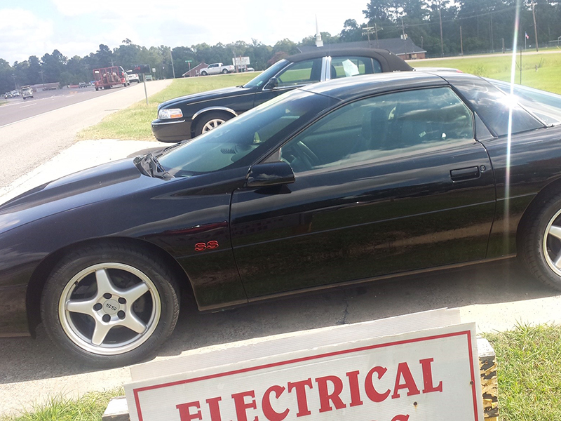 2nd Image of a 1996 CHEVROLET CAMARO Z28 SS