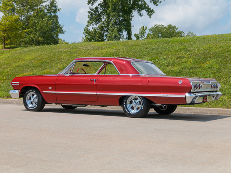 4th Image of a 1963 CHEVROLET IMPALA