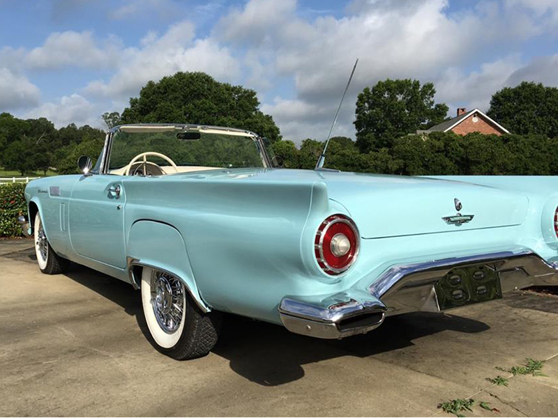2nd Image of a 1957 FORD THUNDERBIRD E-CODE