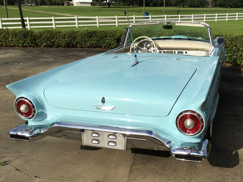 3rd Image of a 1957 FORD THUNDERBIRD E-CODE