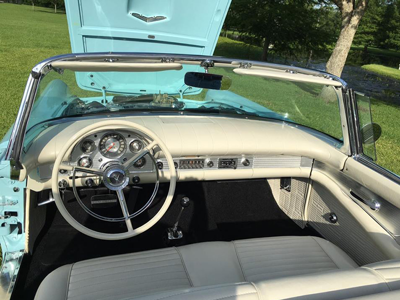 5th Image of a 1957 FORD THUNDERBIRD E-CODE
