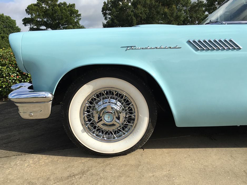 6th Image of a 1957 FORD THUNDERBIRD E-CODE