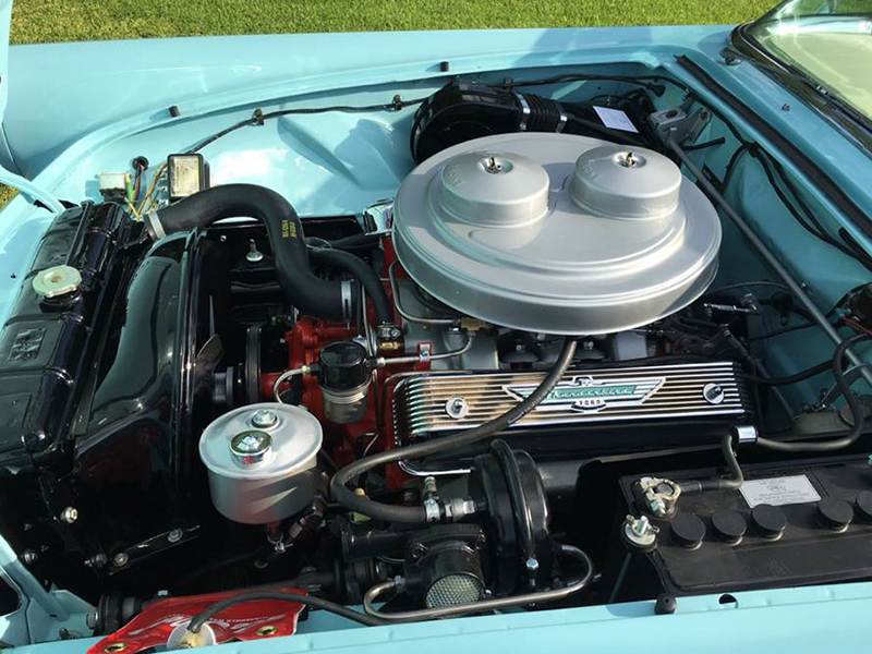 7th Image of a 1957 FORD THUNDERBIRD E-CODE