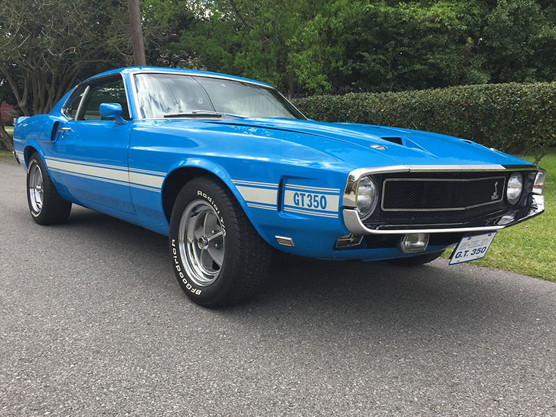 3rd Image of a 1969 FORD SHELBY HERTZ FASTBACK