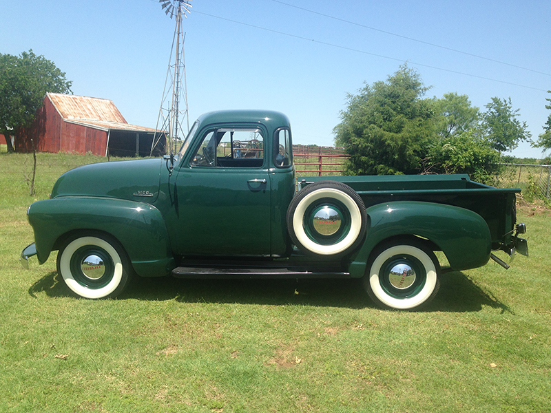 2nd Image of a 1953 CHEVROLET 3100
