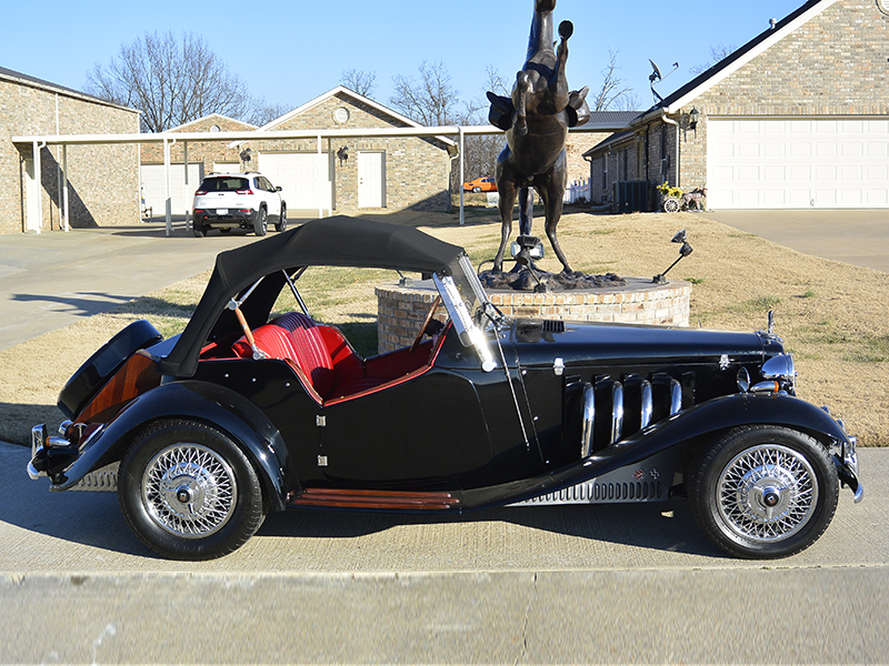 2nd Image of a 1952 MG TD REPLICA