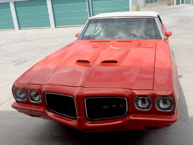 1971 pontiac gto for sale at vicari auctions nocona tx 2017. Black Bedroom Furniture Sets. Home Design Ideas