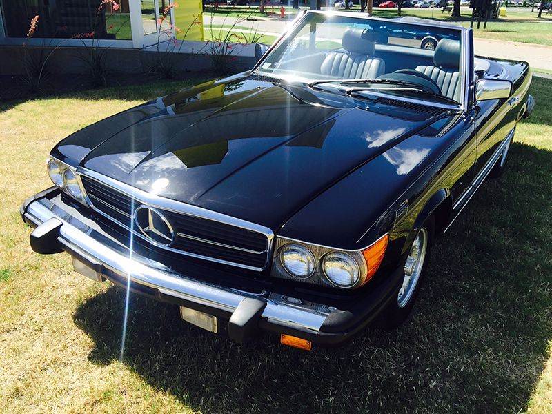 6th Image of a 1984 MERCEDES-BENZ 380 380SL