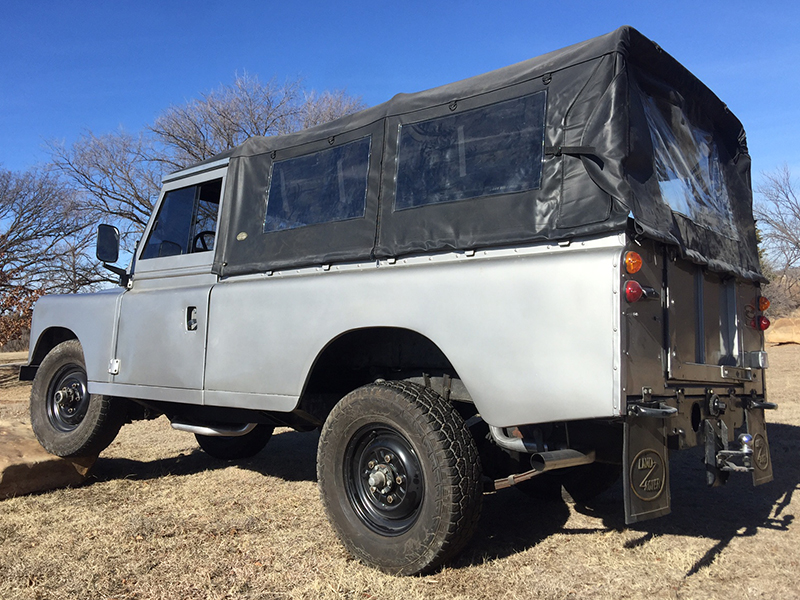 4th Image of a 1987 LAND ROVER SANTANA