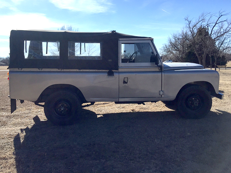 6th Image of a 1987 LAND ROVER SANTANA