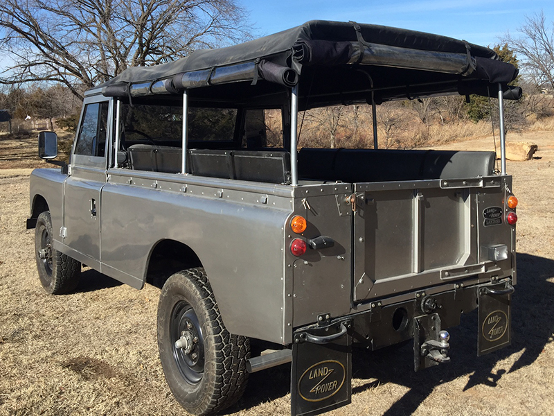 8th Image of a 1987 LAND ROVER SANTANA