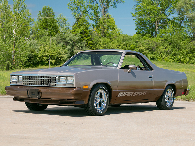 2nd Image of a 1983 CHEVROLET EL CAMINO