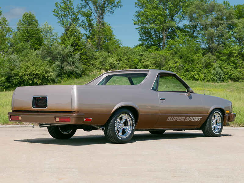 4th Image of a 1983 CHEVROLET EL CAMINO