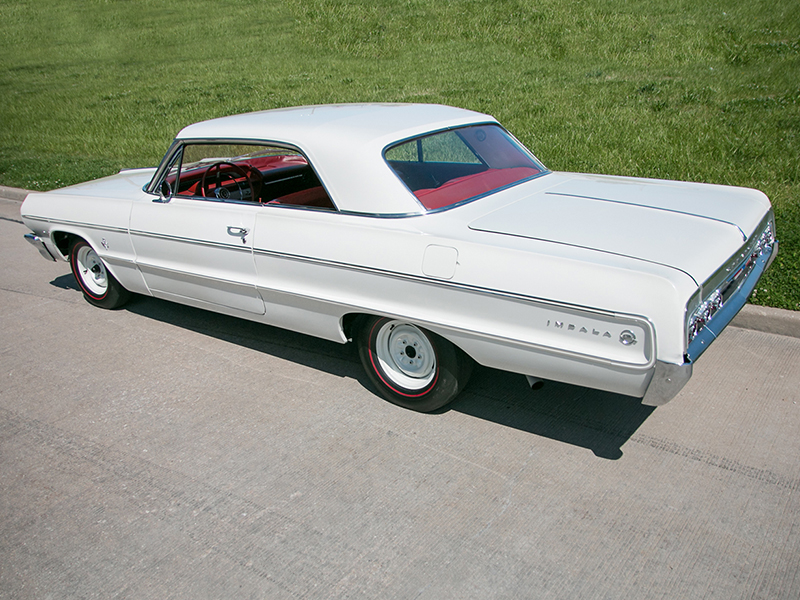 4th Image of a 1964 CHEVROLET IMPALA