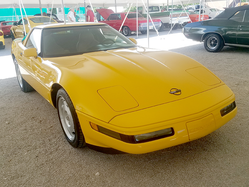 2nd Image of a 1995 CHEVROLET CORVETTE