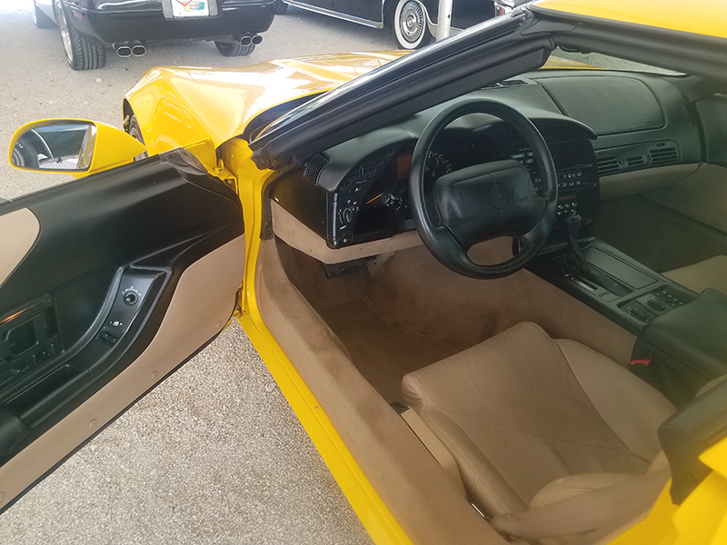 4th Image of a 1995 CHEVROLET CORVETTE