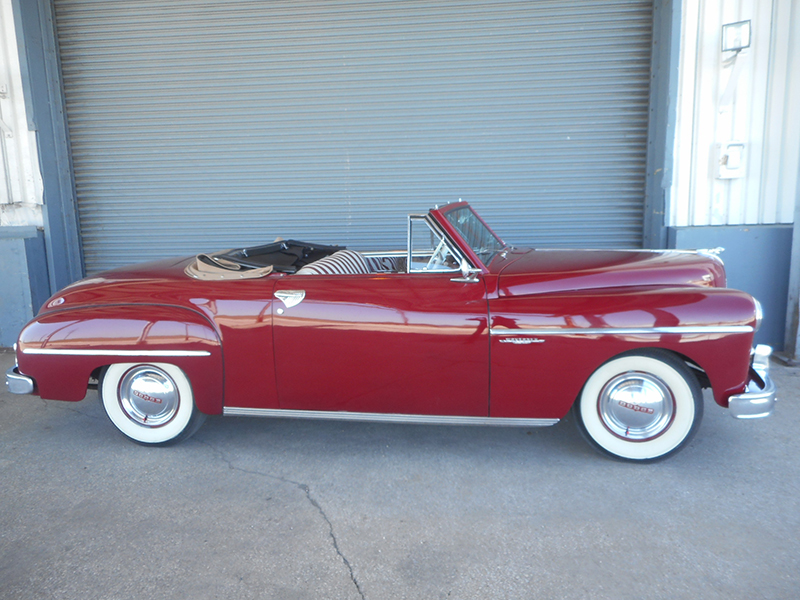 2nd Image of a 1949 DODGE WAYFARER ROADSTER