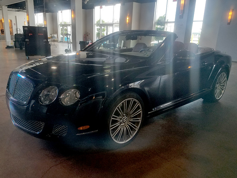 2nd Image of a 2010 BENTLEY CONTINENTAL GTC SPEED