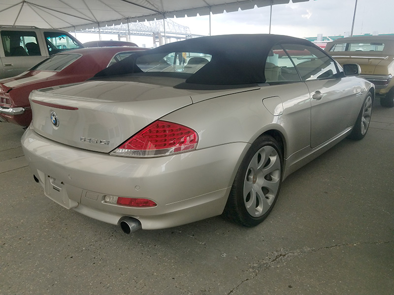 2nd Image of a 2005 BMW 6 SERIES 645CIC