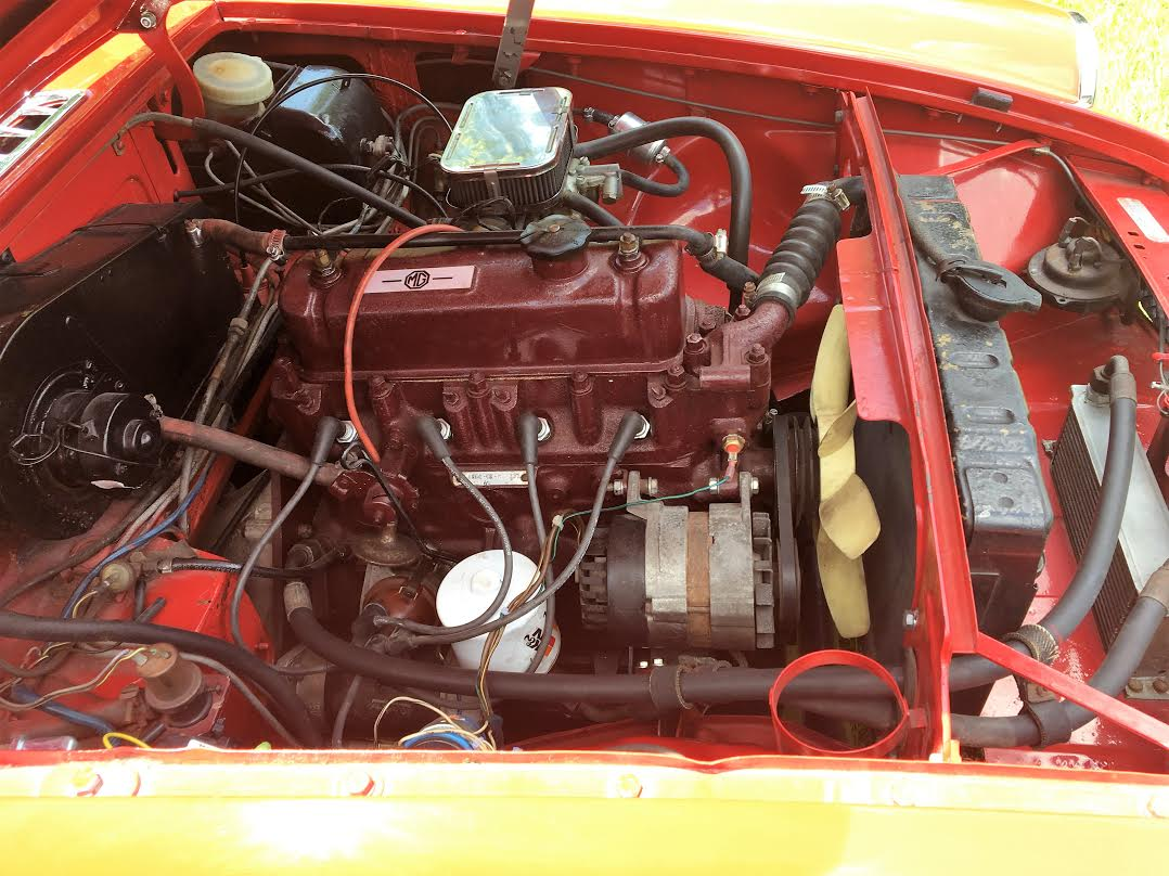 9th Image of a 1973 MG GHN