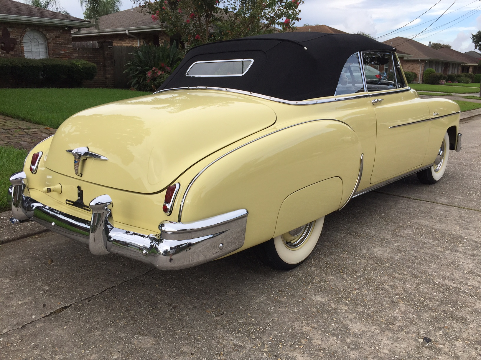 2nd Image of a 1950 CHEVROLET STYLELINE DELUXE
