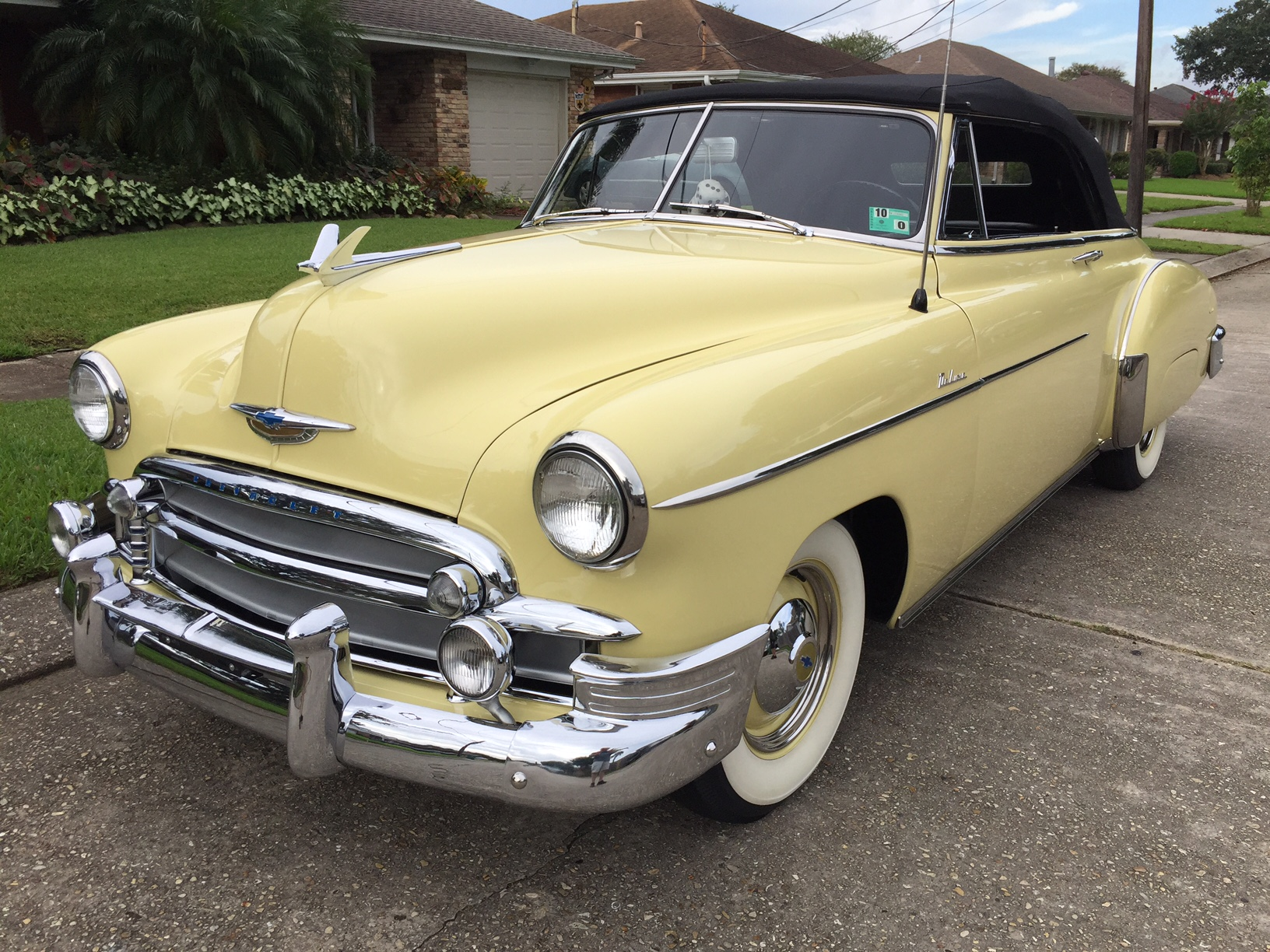 3rd Image of a 1950 CHEVROLET STYLELINE DELUXE