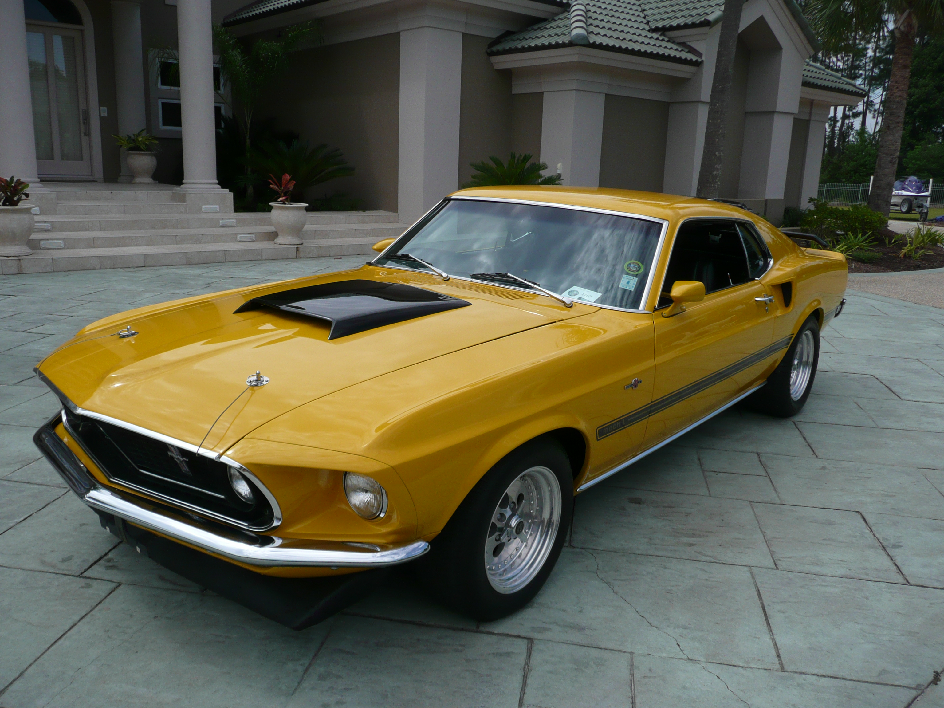 1st Image of a 1969 FORD MUSTANG COBRA JET CLONE