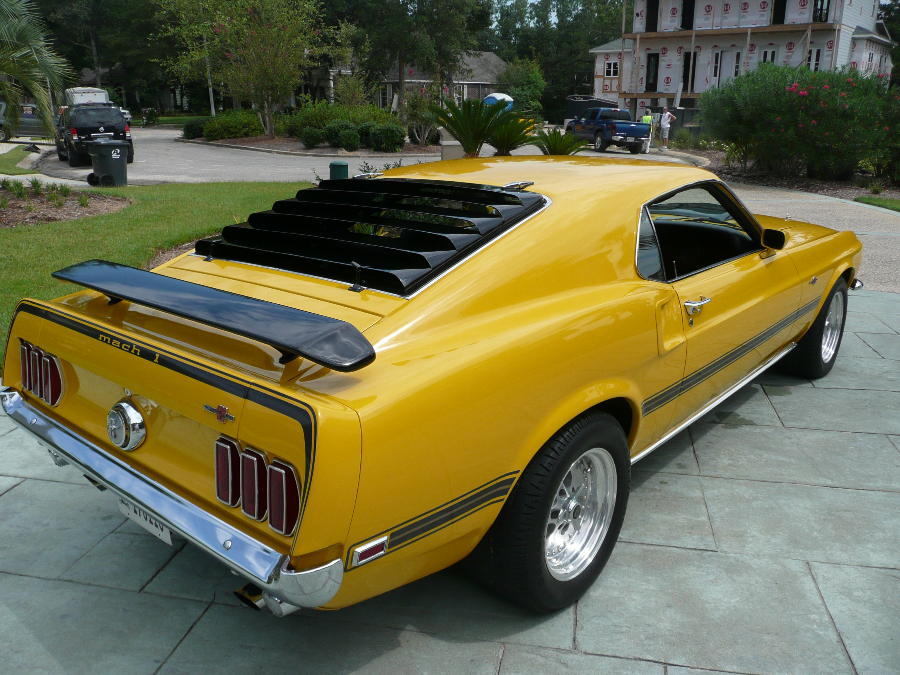 3rd Image of a 1969 FORD MUSTANG COBRA JET CLONE