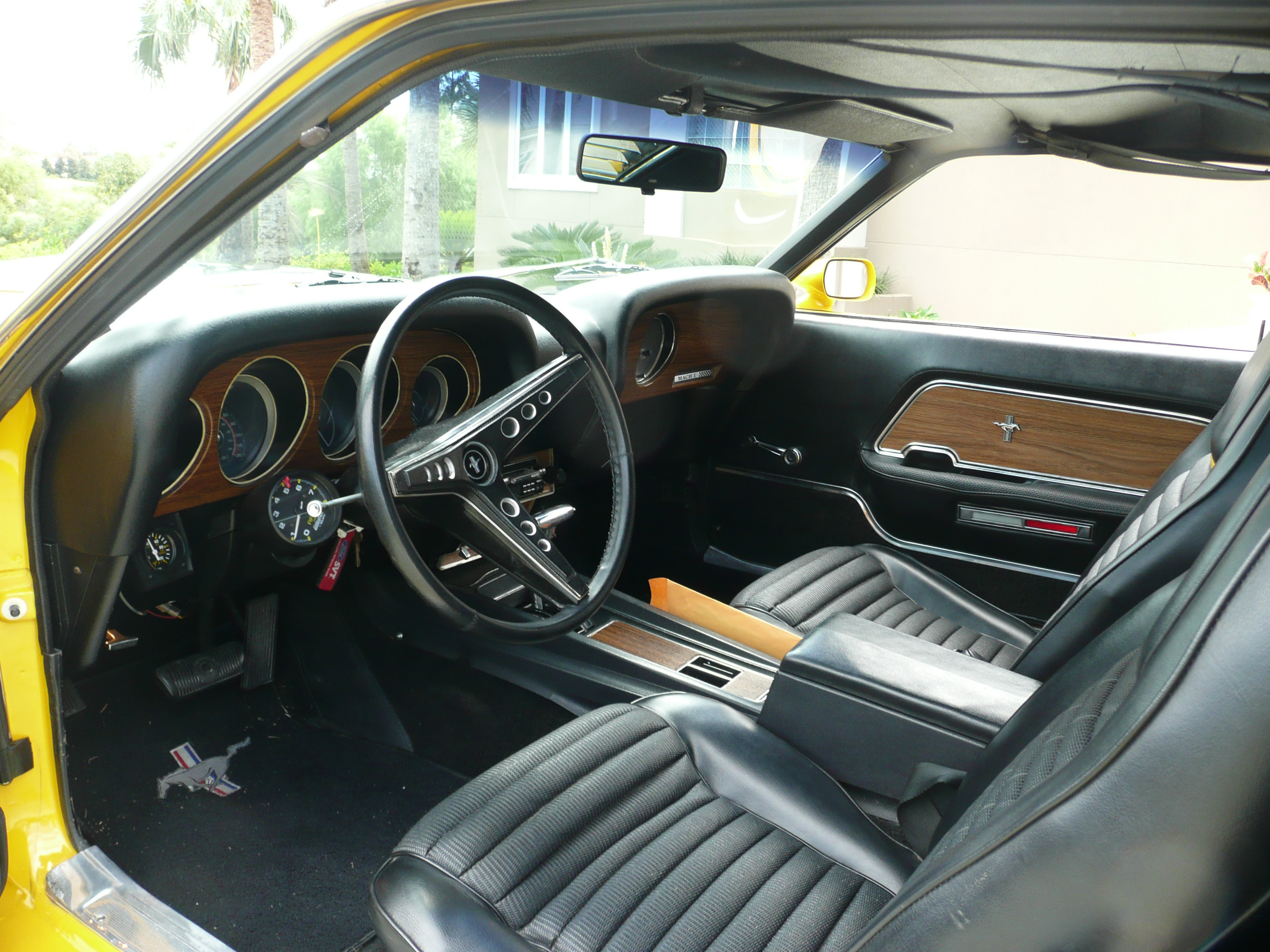 4th Image of a 1969 FORD MUSTANG COBRA JET CLONE