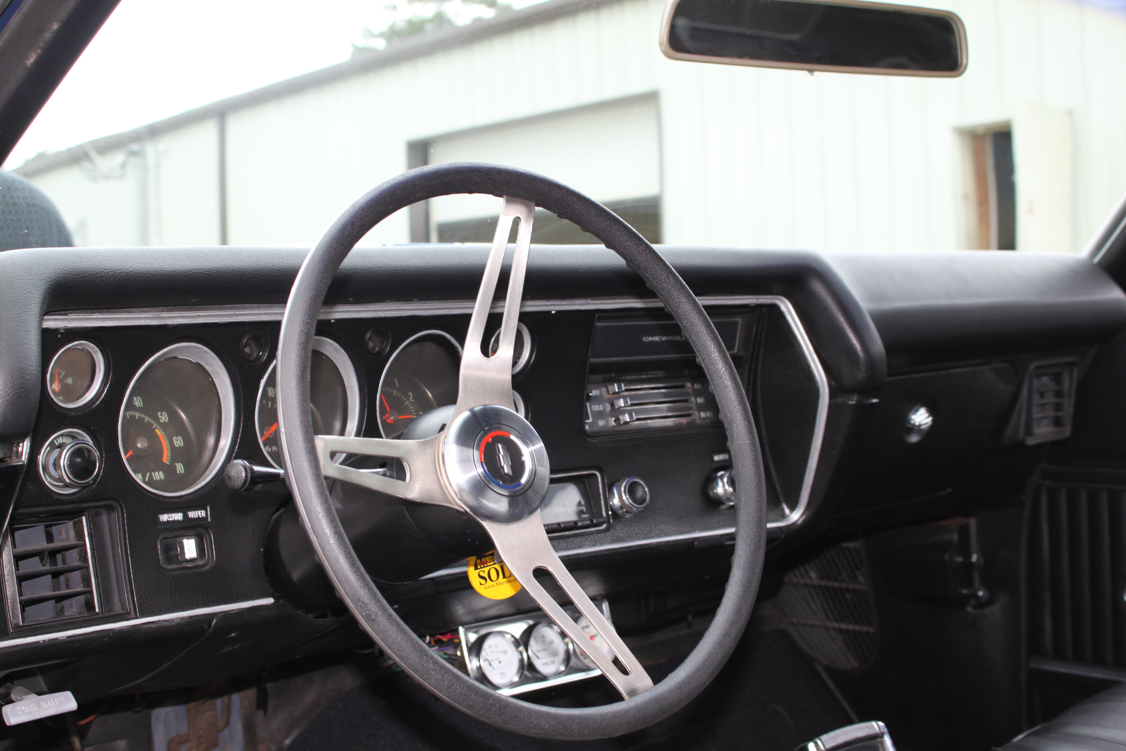 6th Image of a 1970 CHEVROLET CHEVELLE