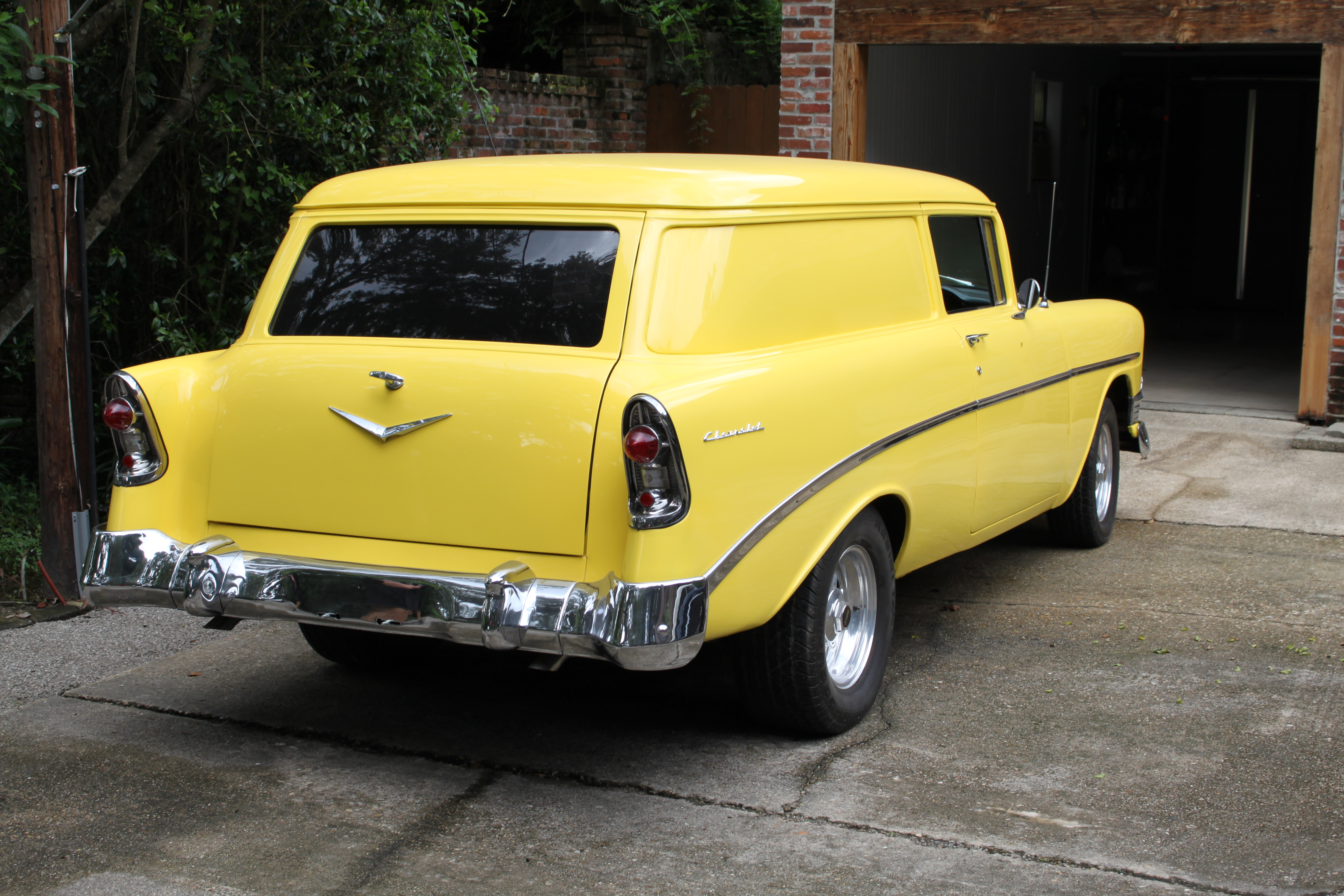 4th Image of a 1956 CHEVROLET BELAIR