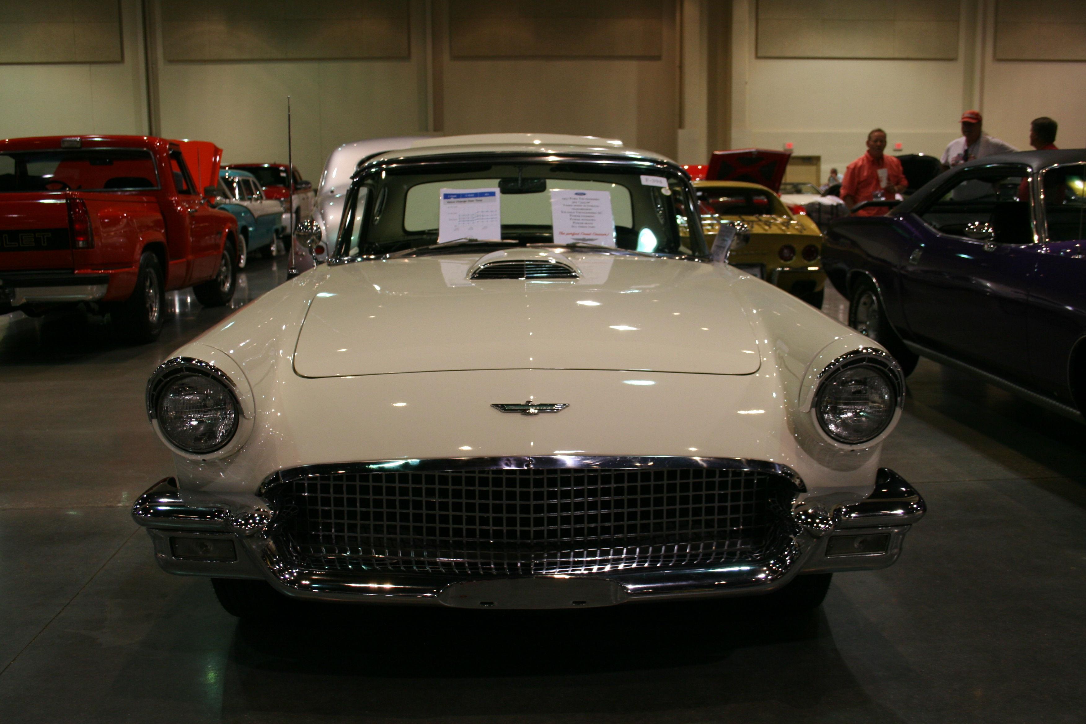 3rd Image of a 1957 FORD THUNDERBIRD D CODE