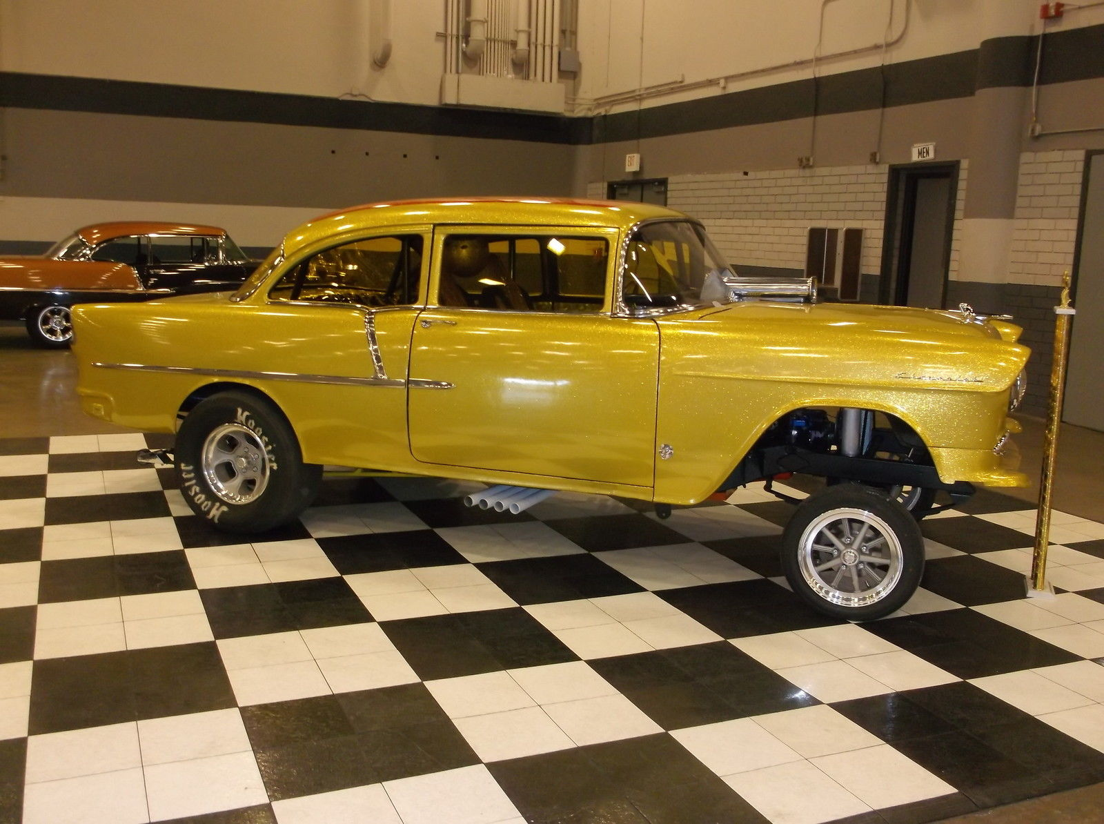 2nd Image of a 1955 CHEVROLET 210/ GASSER