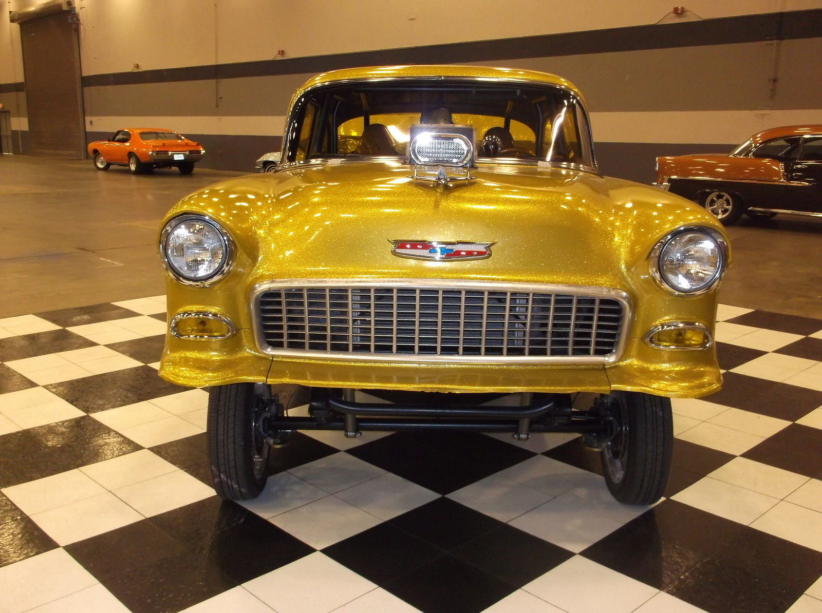 3rd Image of a 1955 CHEVROLET 210/ GASSER