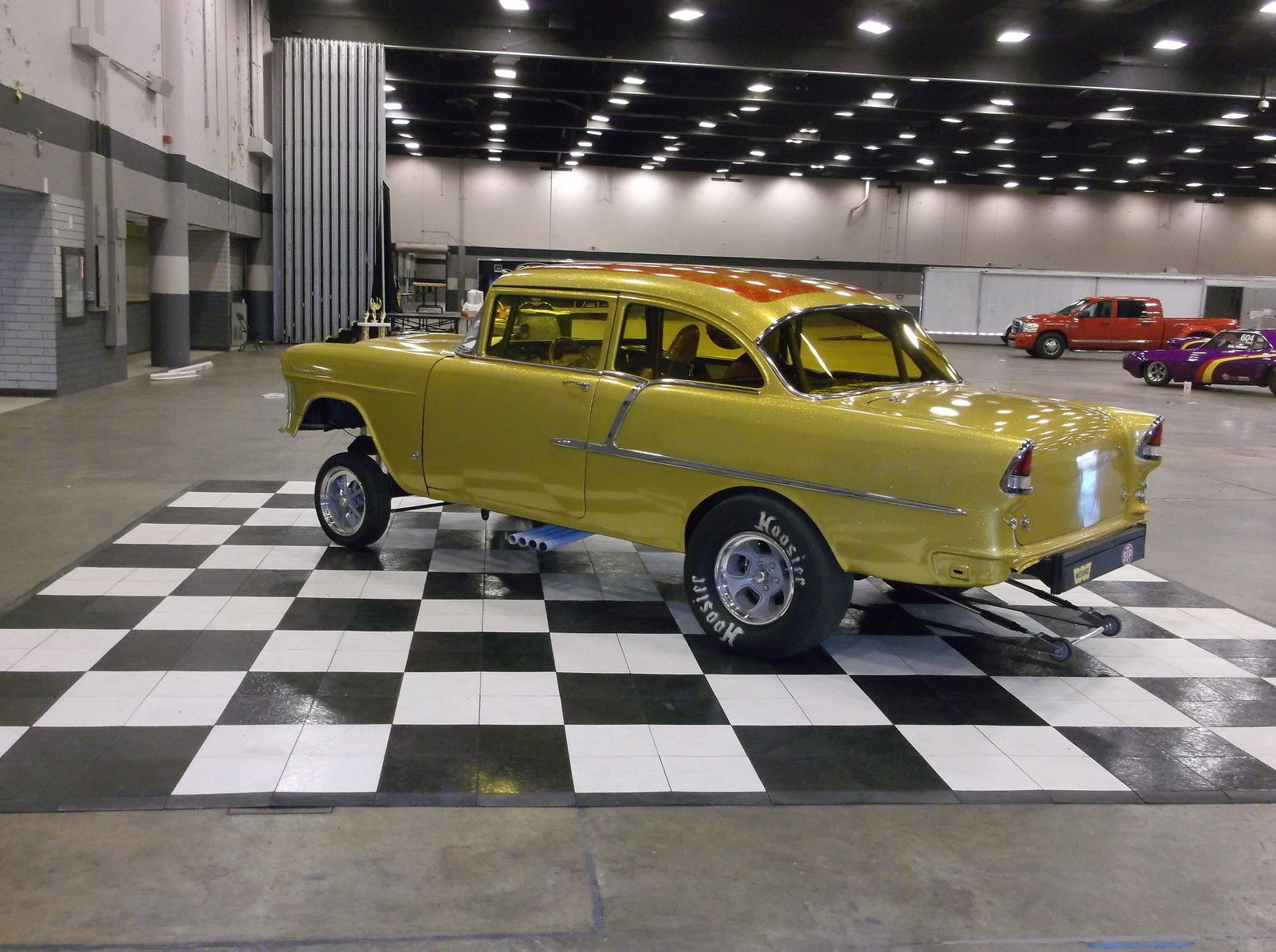 4th Image of a 1955 CHEVROLET 210/ GASSER