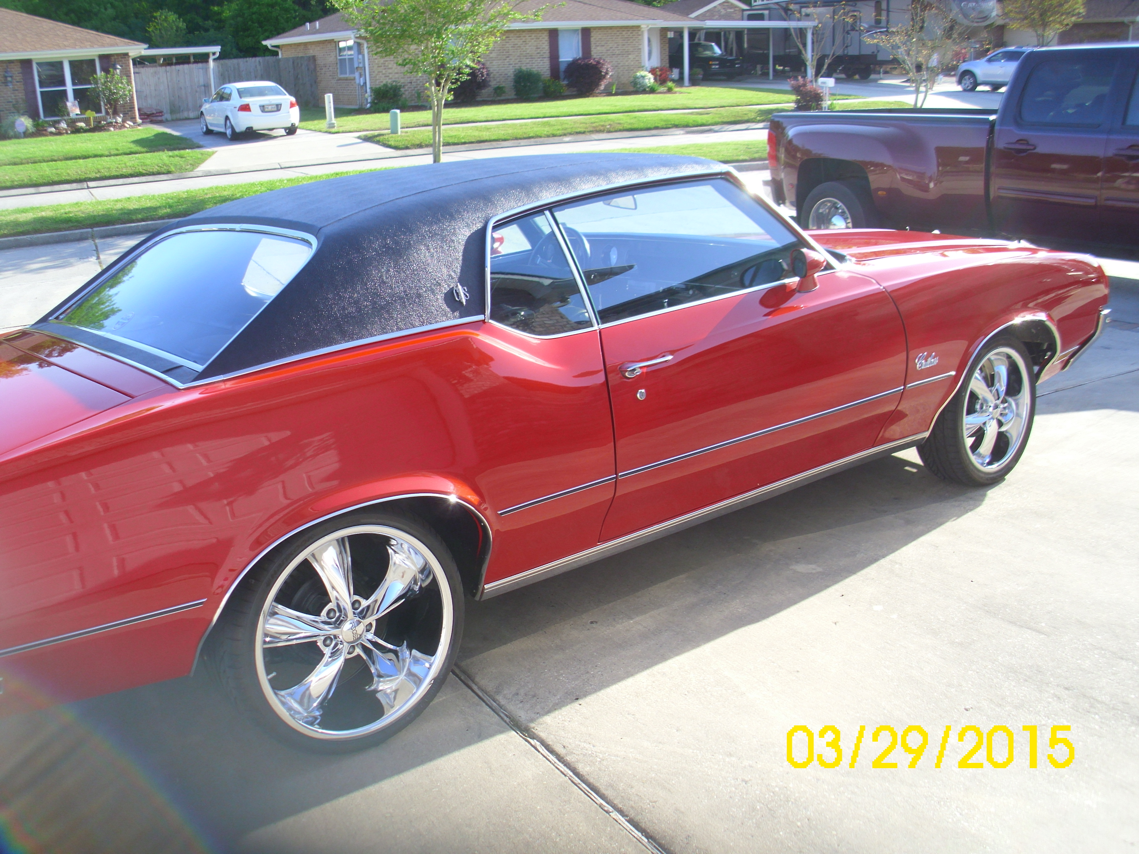 4th Image of a 1972 OLDSMOBILE CUTLASS SUPREME