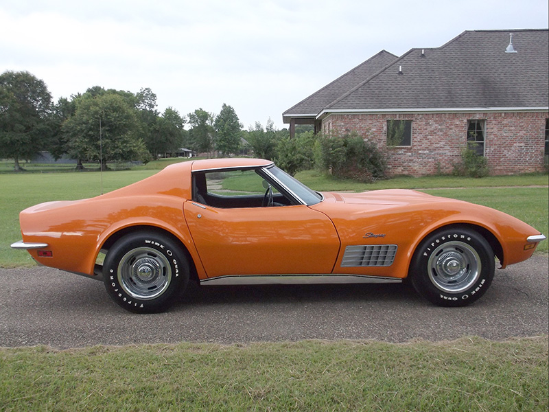 4th Image of a 1970 CHEVROLET CORVETTE