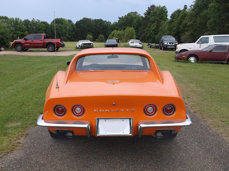 6th Image of a 1970 CHEVROLET CORVETTE