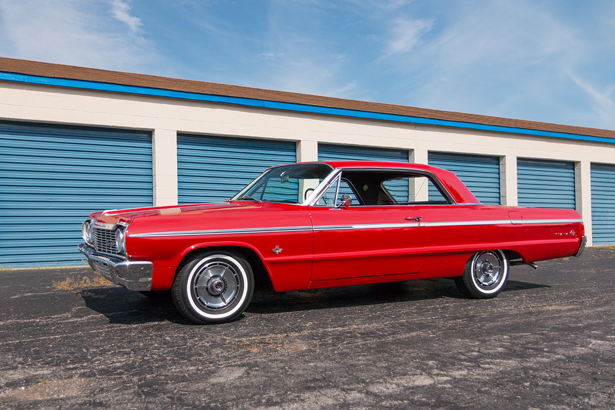 1st Image of a 1964 CHEVROLET IMPALA SS
