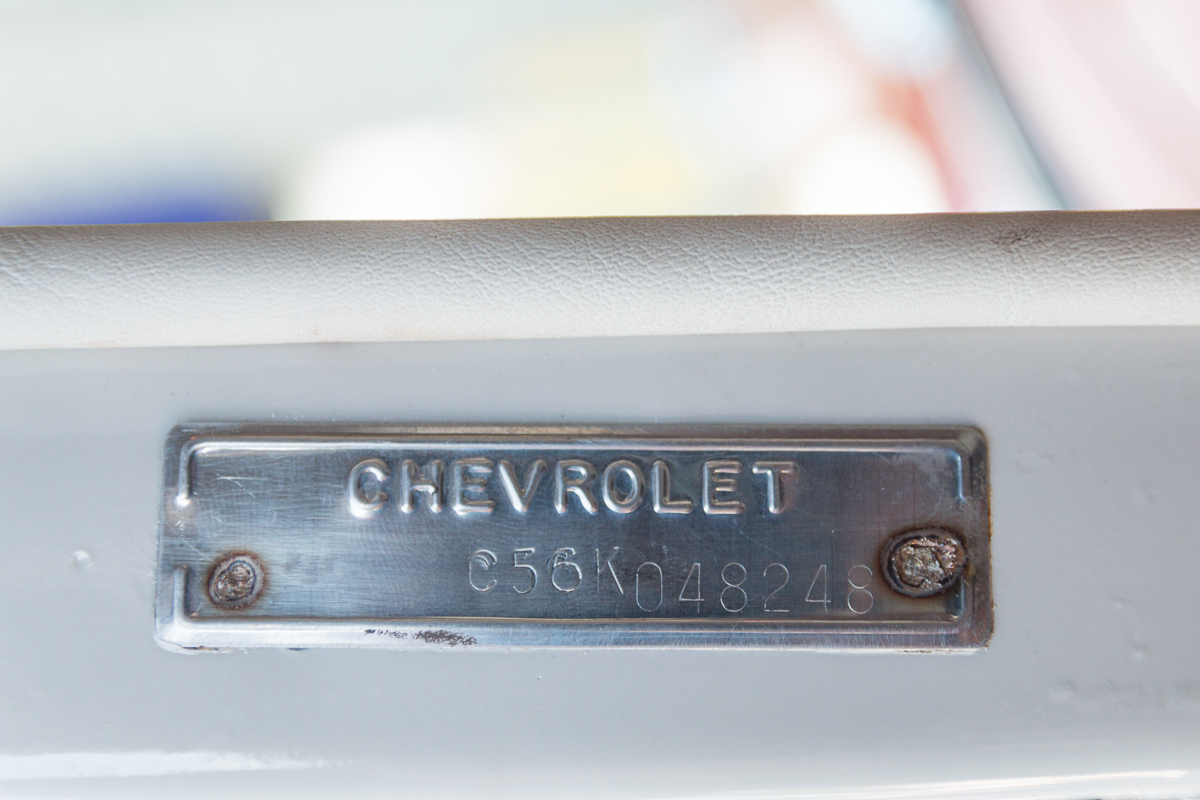 7th Image of a 1956 CHEVROLET BELAIR