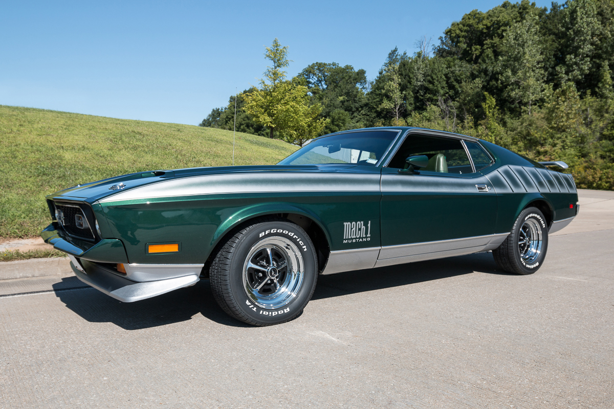 1st Image of a 1972 FORD MUSTANG MACH 1