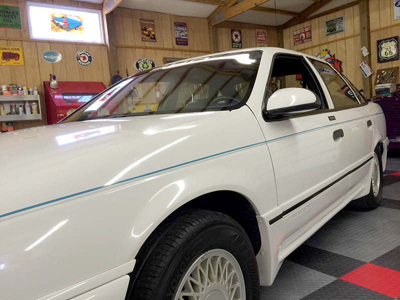 7th Image of a 1990 FORD TAURUS SHO