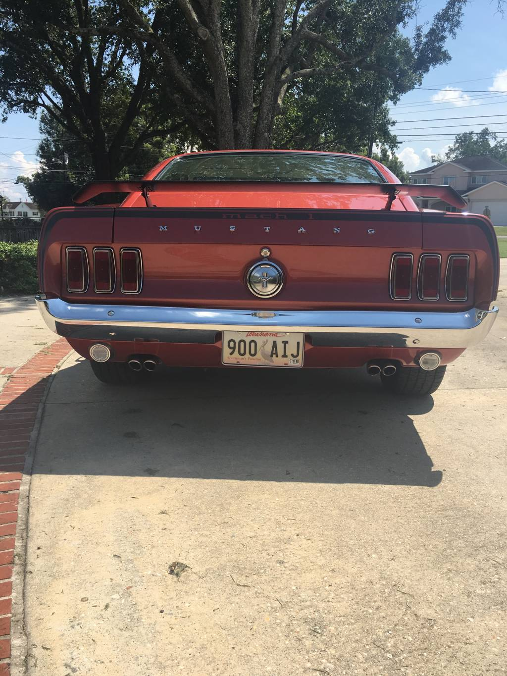4th Image of a 1969 FORD MUSTANG MACH 1