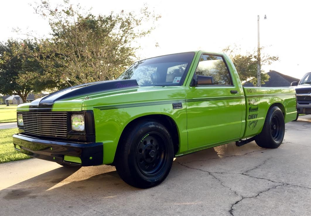 4th Image of a 1988 CHEVROLET S10